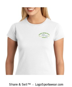 Gildan Ladies 100% Soft Style Ringspun Tee Design Zoom